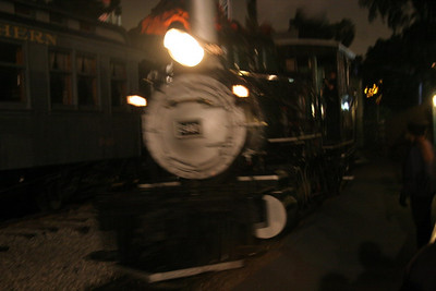 The Calico Railroad returns from it's journey