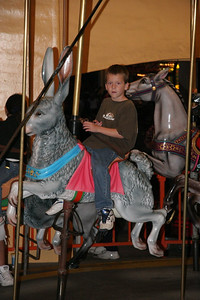 Ryan on the carousel
