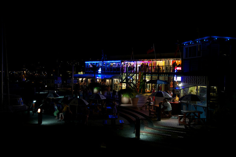 Knysna Waterfront at Night I