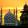 Mosque at sunset - 0638