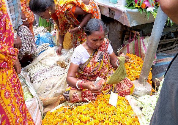 Flower Market_0821 - flower vendor