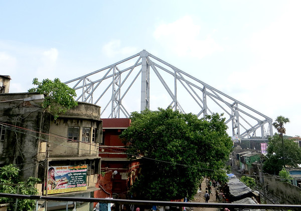 Howrah Bridge first glimpse_0804
