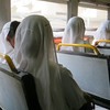 Sisters of Charity on bus - 1046
