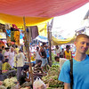 Flower Market and Walt_0820
