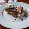 Macadamia nut pie - Fish Hopper restaurant