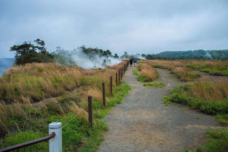 Steam vents - Kilauea Volcano National Park