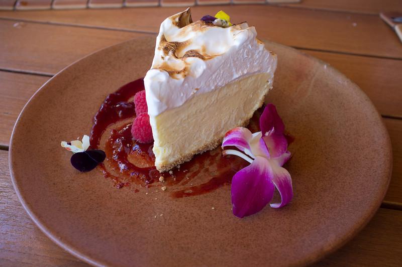 Lemon meringue icecream pie - The Four Seasons Hotel - Hualalai