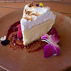 Lemon meringue icecream pie - The Four Seasons Hotel - Hualalai
