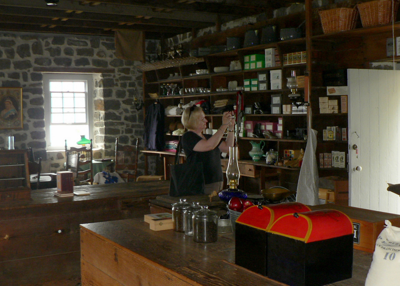A recreation of an old Kona general store (Kona Historical society)