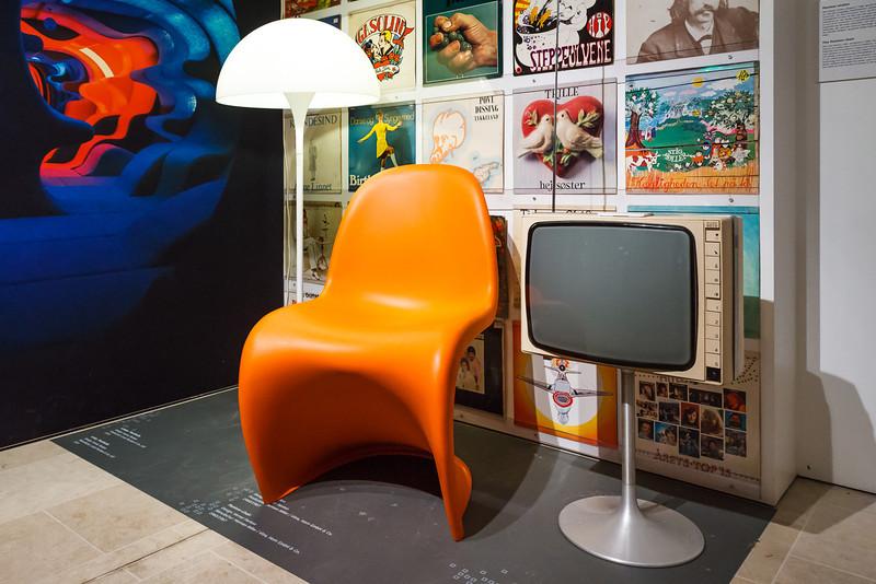 im Designmuseum; Panton Stuhl