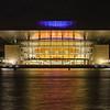 Die neue Oper bei Nacht