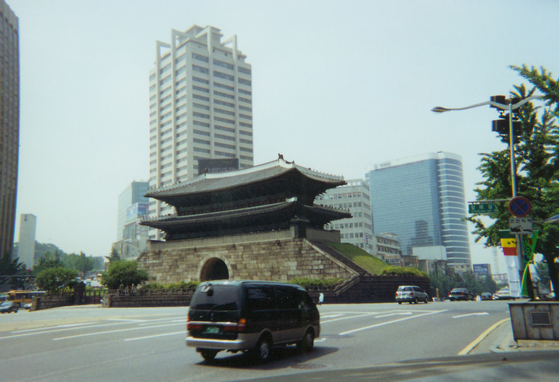 old city wall in Seoul