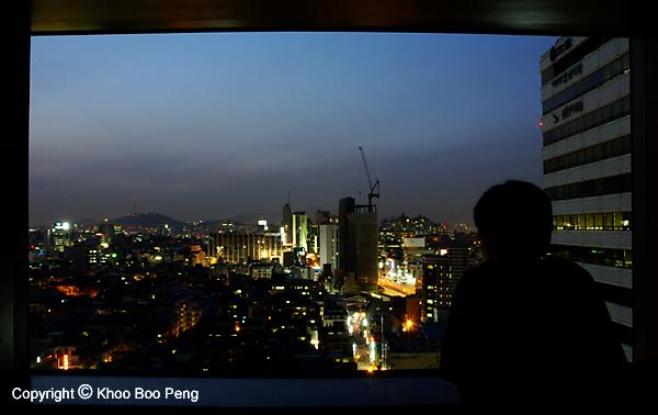 Seoul at dusk
