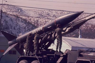 """Honest John"" field artillery circ 1965"