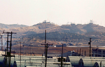 the Army Air Defense Command center at Camp Humphreys