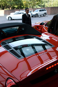 We saw these same Ferraris in Dresden in March...