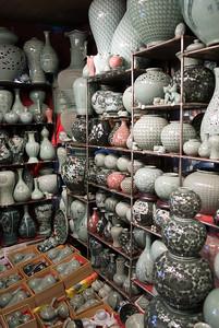 Tourist shop in Itaewon