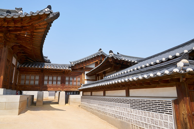 Gyeongbok Palace (경복궁).