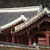 Details of roofs at Jongmyo, the Confucian shrine for kings and queens of the Joseon Dynasty.