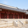 Jongmyo, the Confucian shrine for kings and queens of the Joseon Dynasty.