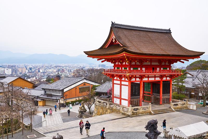Kyomizu-dera, Kyoto, Japan