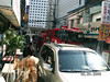 On the way to church (down the first alley), two fire trucks were coming down the alley-size street at the same time.