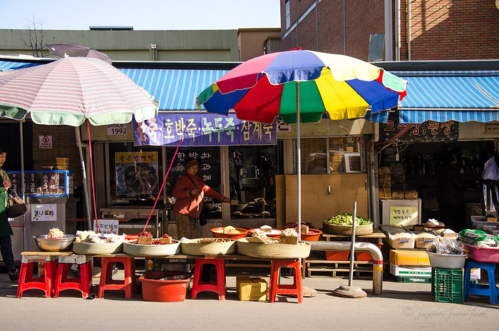 Ahyeon Sijang (traditional market) in my neighborhood