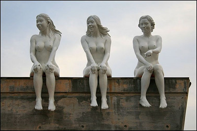 Some of the many statues that are on display in this unusual park.. Love Land