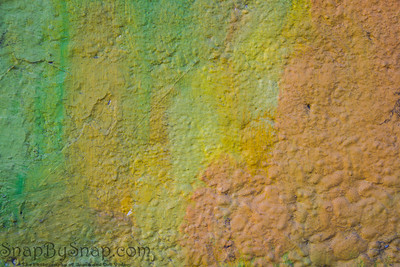 Abstract autumn background in yellow, green, and orange