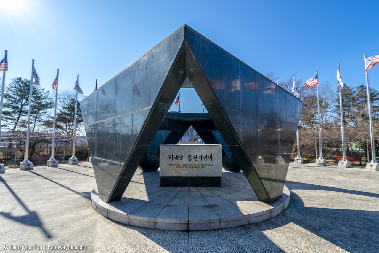 Monument Dedicated to United States Forces in the Korean War