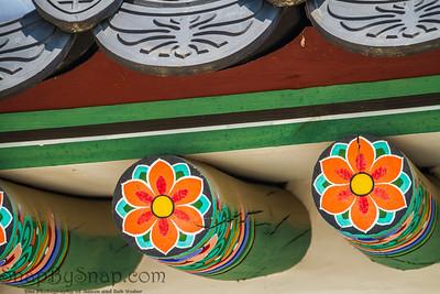 Traditional Korean Flora paintings