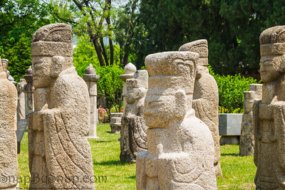 Gyeongbokgung Palace Statues