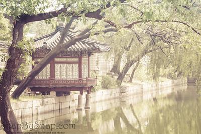 Korean Building Over Water