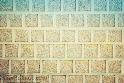 Vintage Korean Brick Wall Background Backdrop