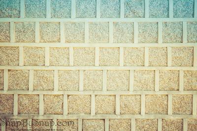 Vintage Korean Brick Wall Background Backdrop