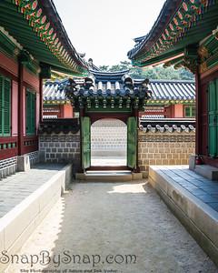 Traditional Korean Gate