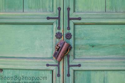 A Traditional Korean Door Lock