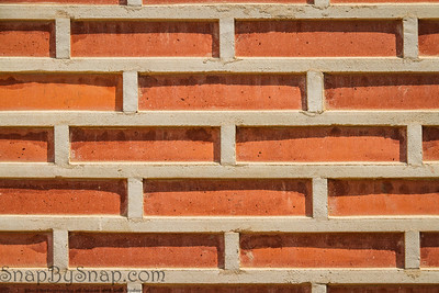 Korean Brick Wall Background Backdrop