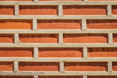 Korean Brick Wall Background Backdrop