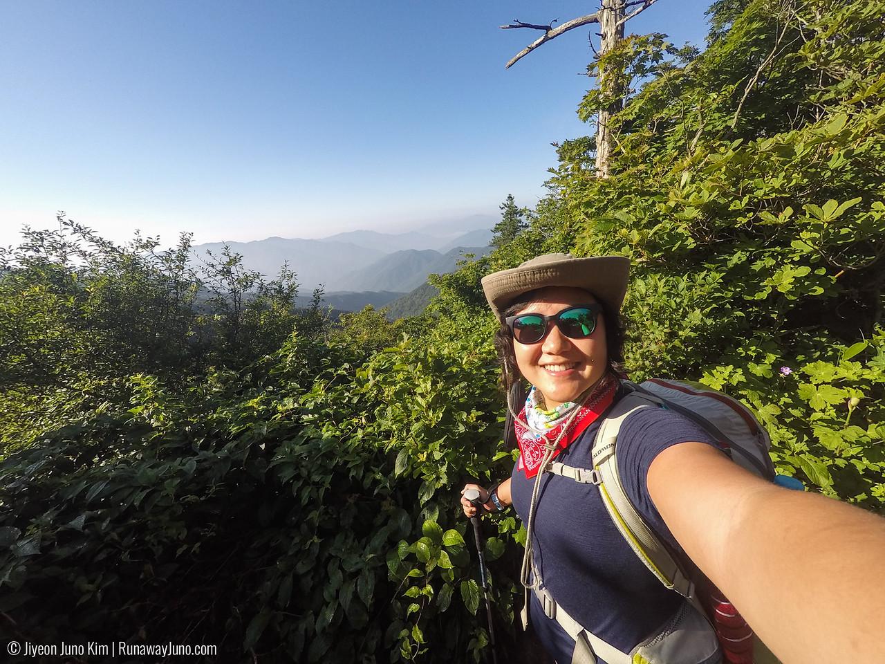 Hiking in Jirisan