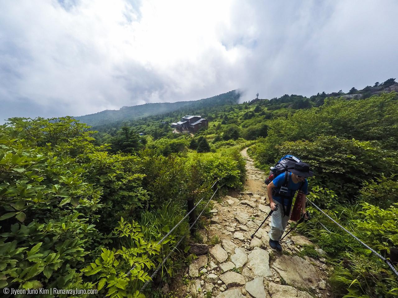 Leaving Seosuk Shelter