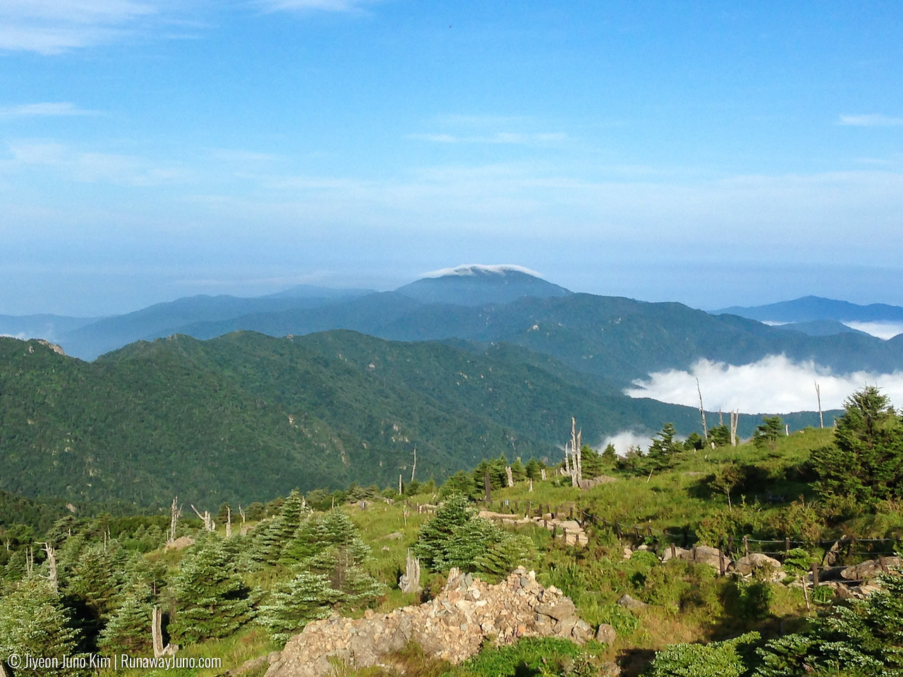 Banyabong Peak with cloud