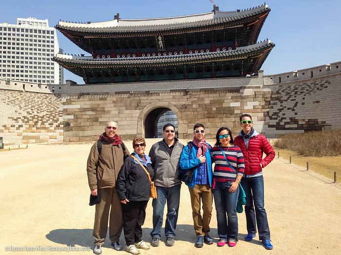 Touring Seoul with the Bugnos!