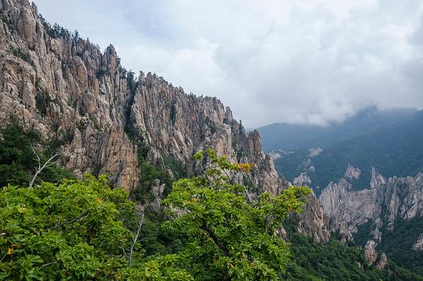 Seoraksan is quite rocky