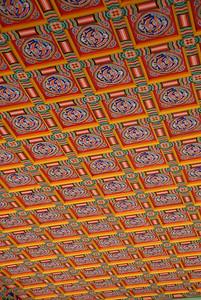 Gyeongbok Palace Kings Room - Roof