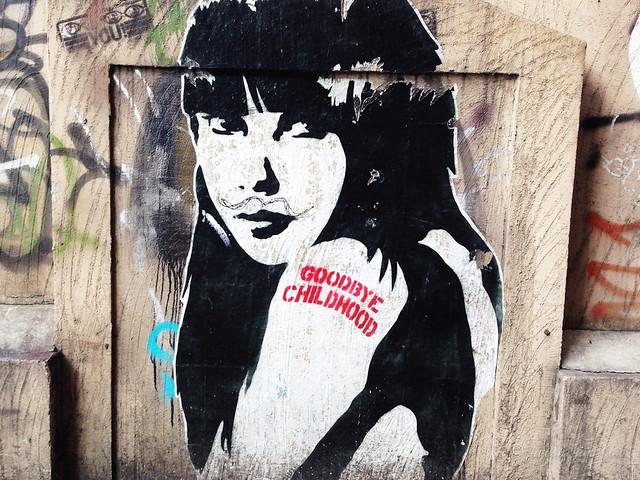 Hongdae street art Korea