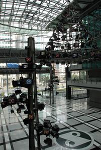 Microsoft office lobby in Seoul