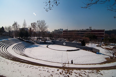 Amphitheatre in Ajou University