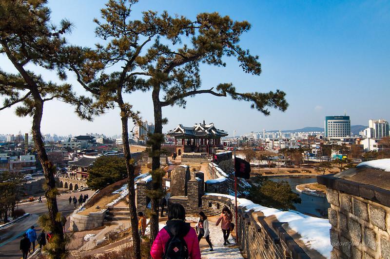 Hwaseong and Suwon city