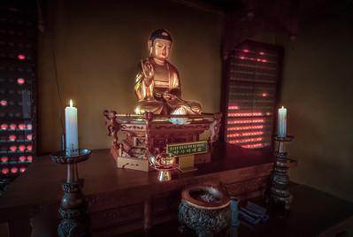 Buddha Image at Heungryunsa Temple - Incheon, Korea